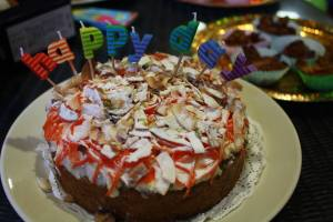 6 month cake